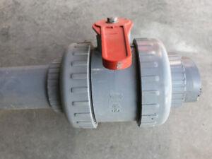4 inch CPVC Ball valve