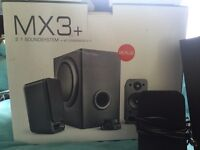 Wavemaster MX3+ 2.1 Speaker System **FAULTY**