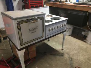 Antique electric stove