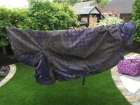 "Shires heavyweight combo horse rug 6' 3"""