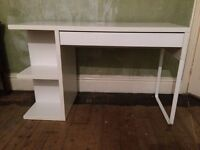 Ikea Micke office desk / computer table white