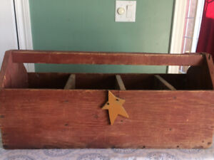 Authentic very old Tool Box