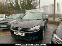 2011 Volkswagen Golf 1.6 TDI MATCH (SAT NAV+CAM BELT CHANGED) 5dr Hatchback Dies