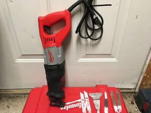 Milwaukee sawzall /reciprocating saw