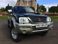 Mitsubishi L 200 ANIMAL LWB DOUBLE CAR WITH REAR SNUG COVER **NO VAT**