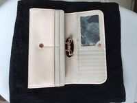 Ted baker designer purse colour natural .