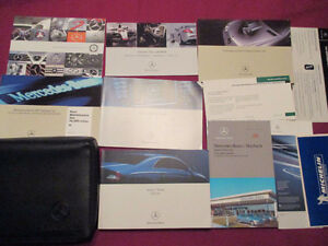 2006 MERCEDES CLS 550 CLS 63 class AMG OWNERS MANUAL SET