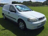 2002 VAUXHALL ASTRA VAN 1,7 TURBO DIESEL FULL YEARS MOT