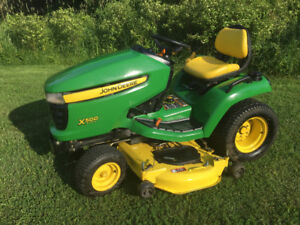 Like New Great Price One of John Deere Best x500