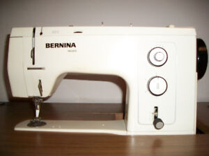 BERNINA 830 RECORD SEWING MACHINE WITH CABINET