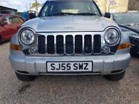 Jeep Cherokee 2.8TD 4X4 Limited SILVER DIESEL WARRANTY 12 MONTHS MOT FULL SERV H