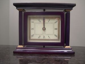 Quartz Swivel Clock & Wooden Frame. Brand new, battery operated Kitchener / Waterloo Kitchener Area image 1