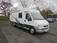 Hobby 600 4 Berth LHD VERY LOW MILEAGE Motorhome For Sale- SALE AGREED