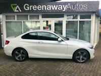 2016 BMW 2 Series 218I SPORT BEST COLOUR LOOKS AMAZING Coupe Petrol Manual