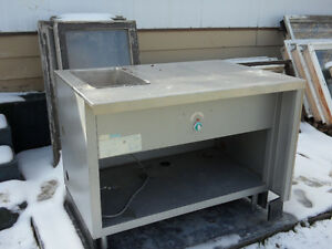 USED Heat table with sink $400.00