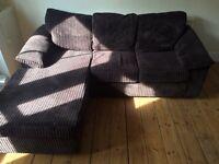 3 person - L shaped sofa