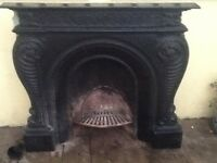 Solid Cast Iron Fireplace