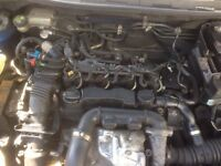 Ford Focus 1.6 tdci complete engine