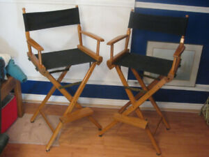 Folding Director chairs