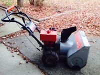 SNOWBLOWER- CRAFTSMAN 5HP/23 INCH SCOOP- GREAT DEAL!