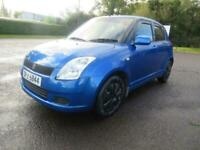 2007 SUZUKI SWIFT 1.3 GL 5DR 89,000 MILES MOT MARCH 21 FIESTA CORSA SPLASH