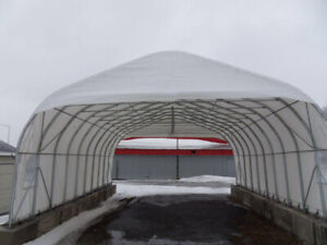a vendre Abris auto industriel 24x30x10' commercial car tent