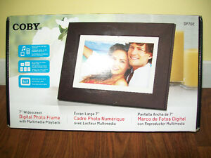 Digital Photo Frame with Multimedia Playback
