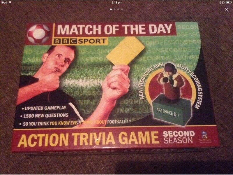 Match Of The Day Interactive Game