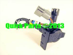 1996 1997 Ford F150 F250 F350 7 Pin Connector Trailer