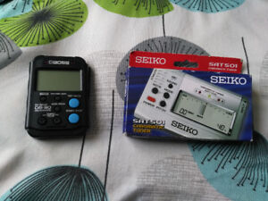 Tuner and metronome