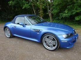 BMW Z3M Roadster S54 2002 / 02 Reg / Rare Car / Final Edition