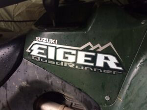 ATV for sale. Comes with plow & more  Cambridge Kitchener Area image 2