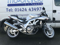 Suzuki SV650S / SV650 / Twin / Nationwide Delivery / Finance / Low mileage!