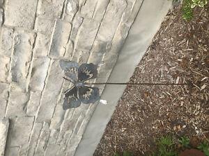 Metal Butterfly Garden Art