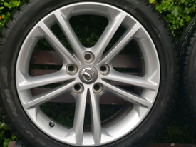 "Vauxhall Insignia 18"" SRI Alloys / Wheels"