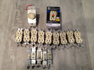 GFCI Receptacle and other Misc electrcial