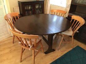 Dining table. Dark oak