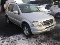 Mercedes-Benz ML270 2.7TD elegance CDI 4x4 only 133,000 m