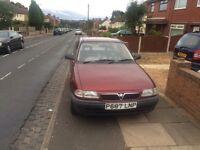 Vauxhall Astra 1.4 auto