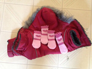 Dog Coat with booties