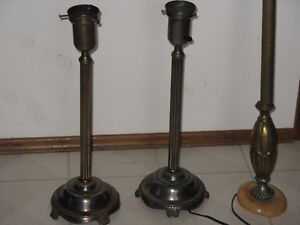 Antique Pole and Table Lamps