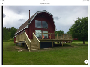 3 Bedroom Lakefront Home near Cabot Links for Rent (June-Oct)