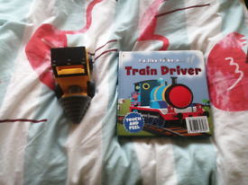 Childrens toy and book