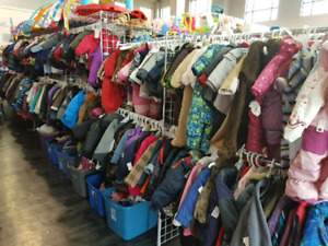 Lots of kids winter wear left!