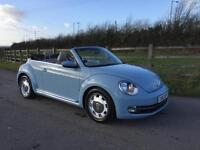 Volkswagen Beetle 1.6TDI cabriolet BlueMotion Tech Design