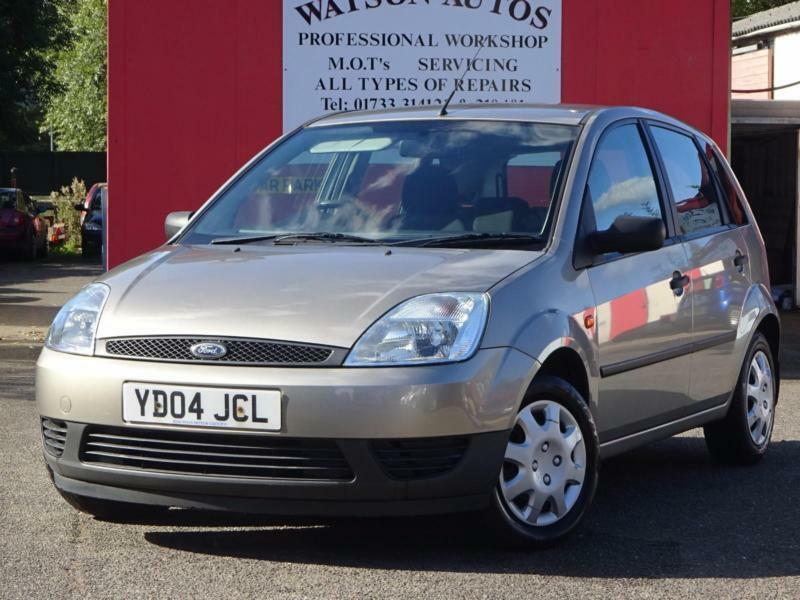 2004 Ford Fiesta 1.25 Finesse - 88,000 MILES - 9 SERVICE STAMPS - 12 MONTH MOT