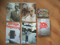 LOT 6 LIVRES MAGAZINE REVUES STENCIL GRAFFITI ART GRAPHIQUE City of Montréal Greater Montréal Preview