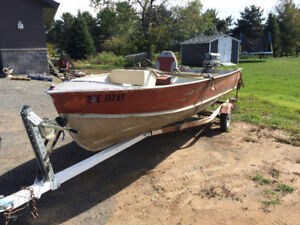 16' Lund for sale or trade
