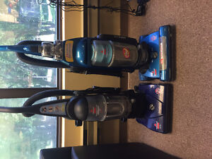 TWO VACCUUMS FOR SALE