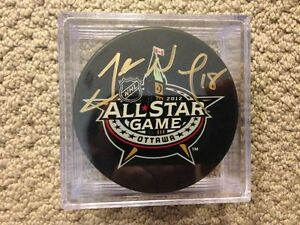 James Neal 2012 All Star Game Signed Puck!! COA